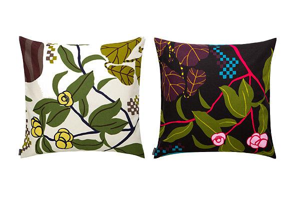 Colorful pillows from Marimekko
