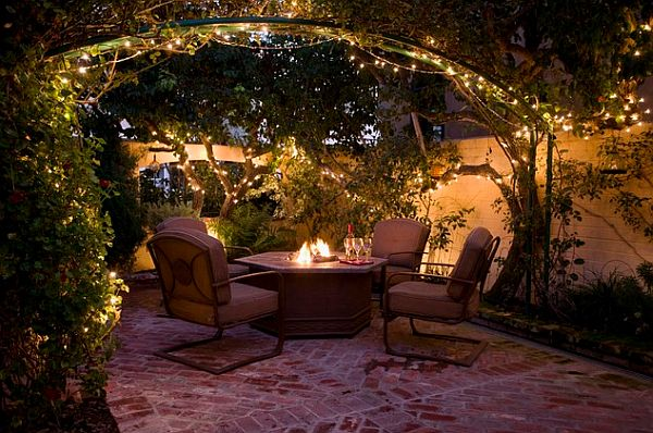 How to keep a party ready patio for Terrace lighting