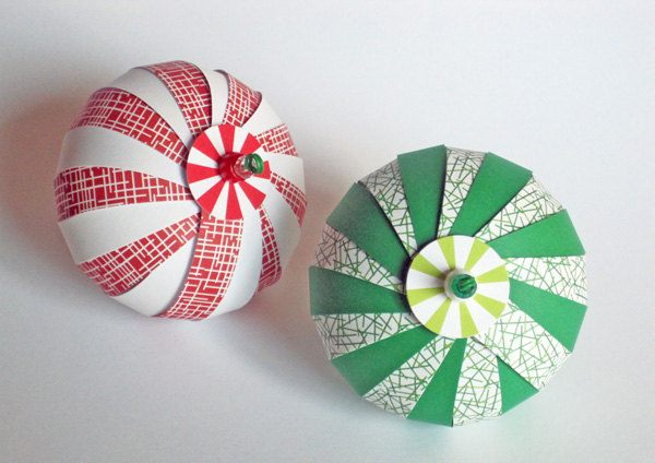 Paper Ball Christmas Decorations Amusing 12 Diy Christmas Ornaments For A Festive Tree Decorating Design