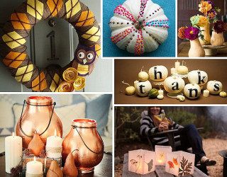 20 Stylish Thanksgiving Crafts to Make Your Home Unique