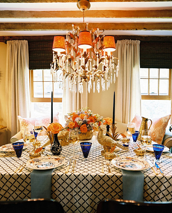 Thanksgiving Table Place Setting Ideas Part - 24: View In Gallery Formal Thanksgiving Place Settings