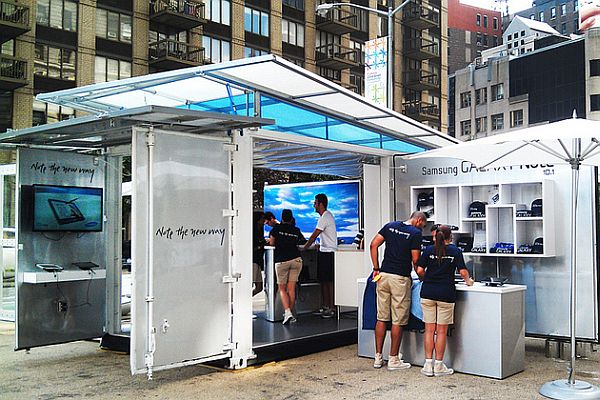 Galaxy-Note-Tour-in-Boxman-Studios-shipping-containers