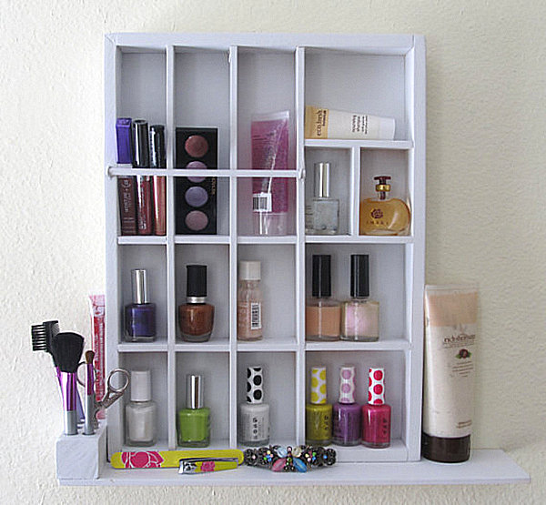 more makeup organizer ideas for a tidy display of beauty