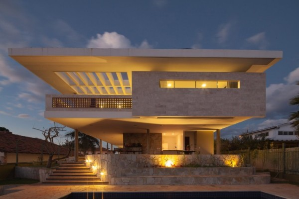 Beautiful Modern Homes Designs: Modern Home In Brazil Exudes Elegance With Stylish