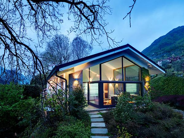 Lake Como countryside villa Mesmerizing Italian Countryside Masterpiece Glows in the Landscape of Lake Como