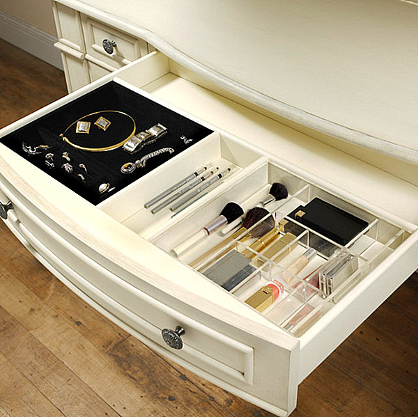 Makeup drawer organizers More Makeup Organizer Ideas for a Tidy Display of Beauty Products