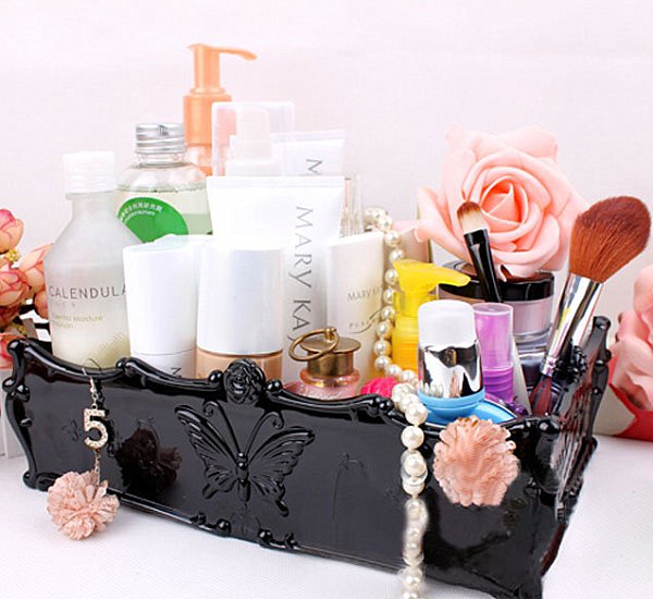 Makeup organizer case decoist Makeup organizer ideas