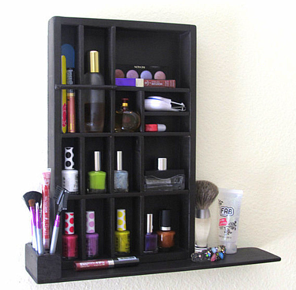 Makeup Organizer For The Wall