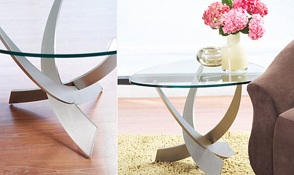 Metal accent tables from Scandinavian Design