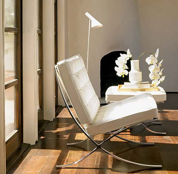 Barcelona Chair White 10 iconic barcelona chairs defining different interior styles