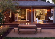 Old Bungalow in California Gets Contemporary Makeover Keeps Rustic Feel