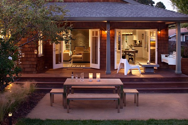 Old Bungalow In California Gets Contemporary Makeover