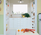 Open pantry design