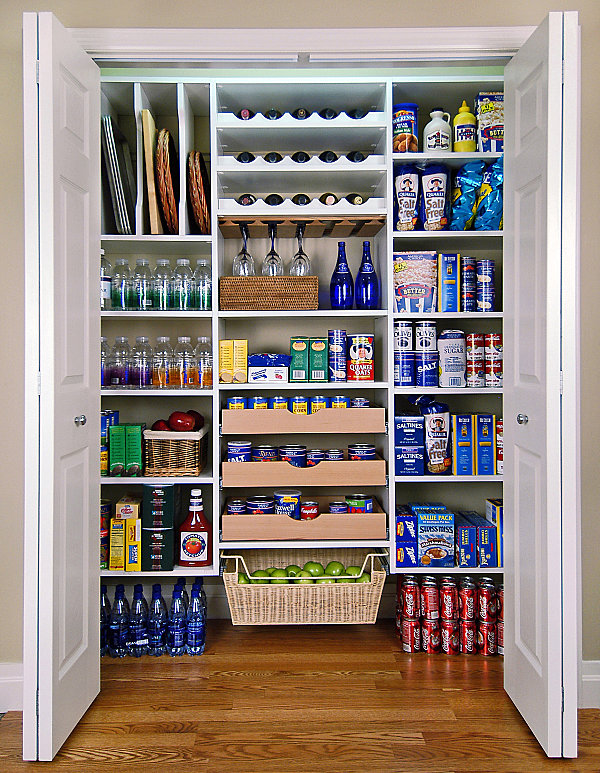 Captivating View In Gallery Organized Pantry Storage