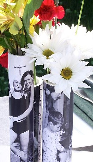 PVC pipe vase - DIY project