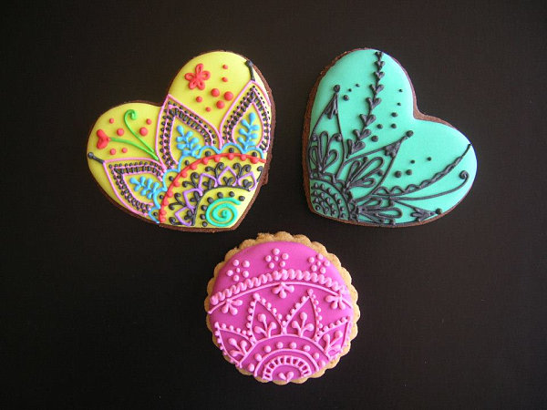 Painted cookies by Natasha Tasic