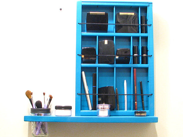 Printers Drawer Cosmetic Organizer