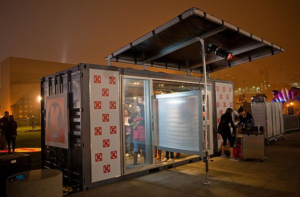 Red Bull New Year No Limits – shipping containers store