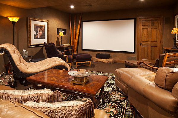 safari inspired media room in decorating with a modern safari theme