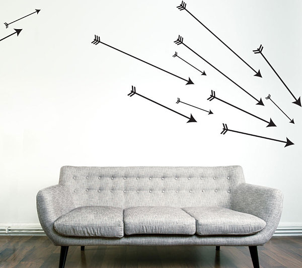 Set of Cupid's Arrows Wall Art Decals