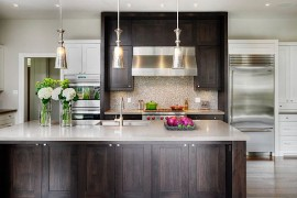 Beautiful kitchen with modern Shaker cabinetry
