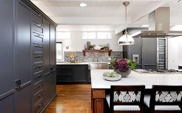View in gallery Beautiful kitchen with modern Shaker cabinetry View in  gallery Shaker ...