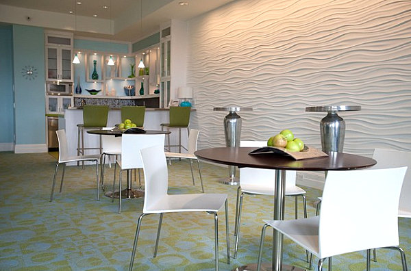 Exceptional View In Gallery Sleek And Modern White Restaurant Chairs