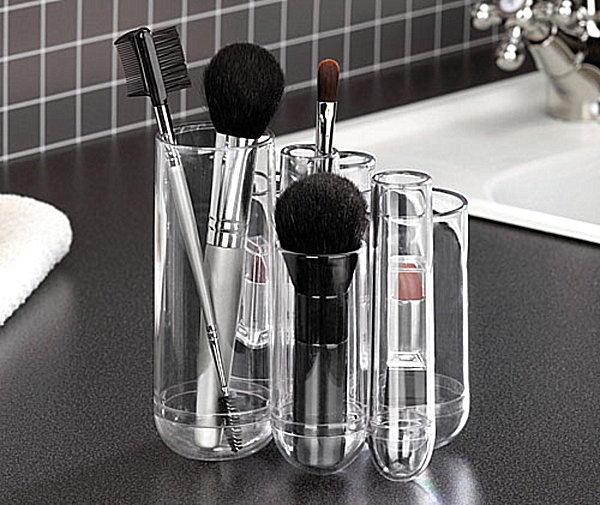 Small Clear Makeup Organizer