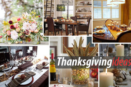 Thanksgiving table setup design ideas