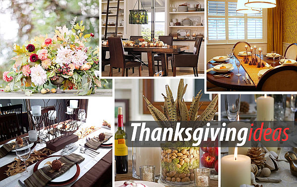 Thanksgiving table setup design ideas Thanksgiving Centerpieces Ideas for a Festive Table