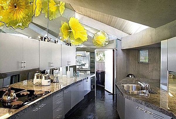 The kitchen of the James Bond Elrod House