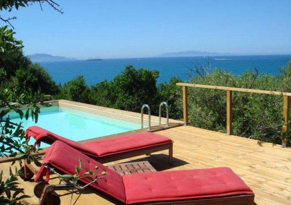 The pool at the Villa La Torre