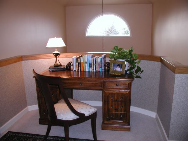 Traditional home work space for those cramped for room