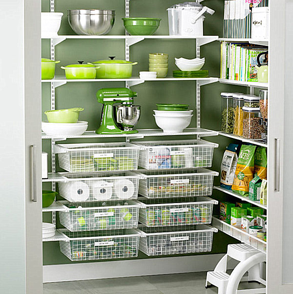 Effective Pantry Shelving Designs For Well Organized: Pantry Design Ideas For Staying Organized In Style