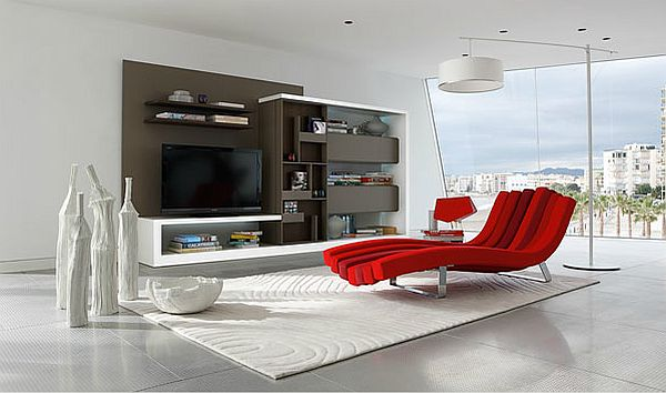 Wall Unit Decorating Ideas