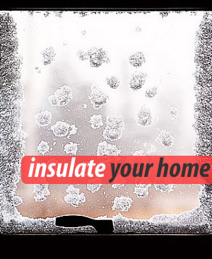 Windows insulation for winter