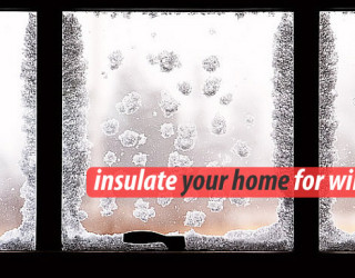 How to Insulate Doors and Windows For Winter
