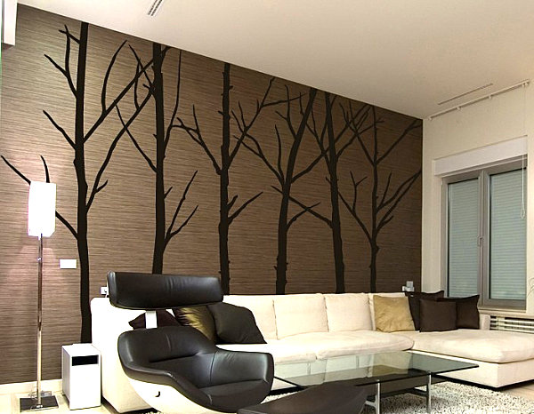 View In Gallery Winter Tree Wall Art Decals