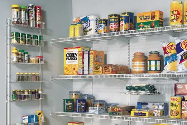 View In Gallery Wire Shelving In A Kitchen Pantry