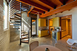 Make a Statement with Spiral Stairs