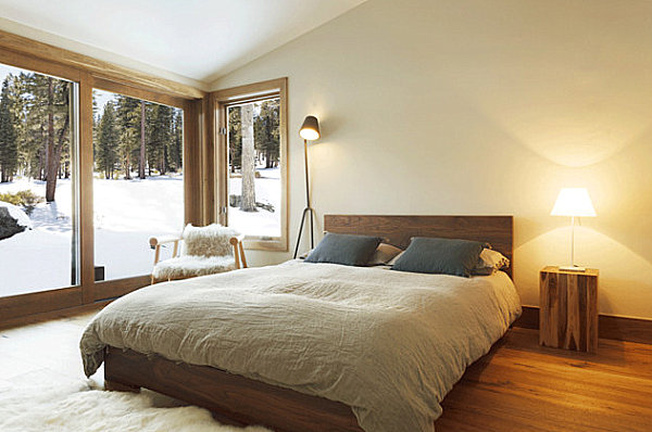 Wooden modern bedroom design Scandinavian Bedroom Designs for Your Modern Interior