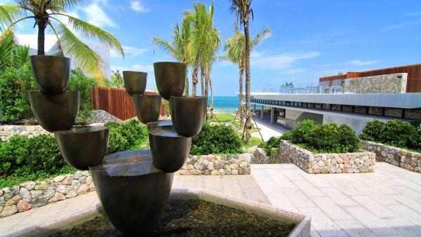 beautiful beach villa