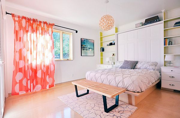 beautiful-plywood-flooring-for-the-bedroom