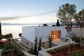 beautiful villa on KRK Island in Croatia