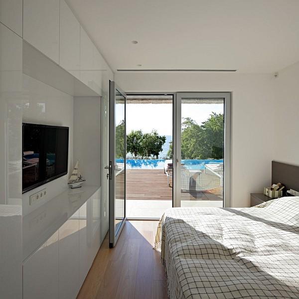 beautiful white bedroom design