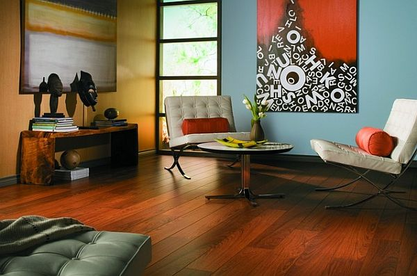 cherry laminate flooring How to Clean Laminate Wood Floors the Easy Way