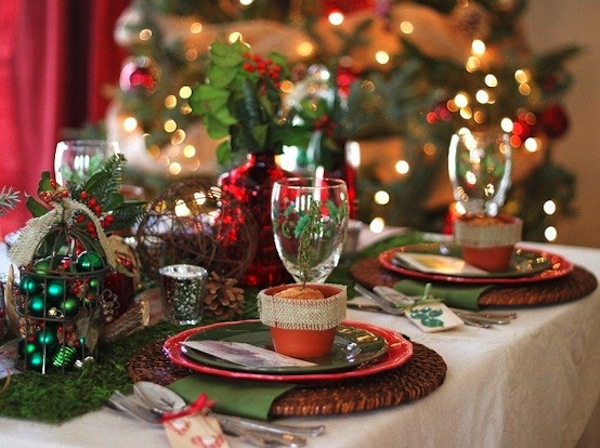 christmas centerpiece Christmas Tablescape Ideas For Your Holiday Guests