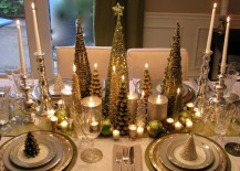 christmas dining room sparkle