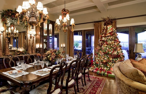 Choosing the perfect christmas tree for your design style - Comment decorer un salon ...