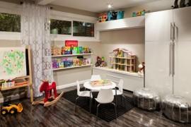 creative kids toy wall shelving